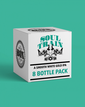 Soul Train - White Gold IPA - Case of 8 500ml Bottles