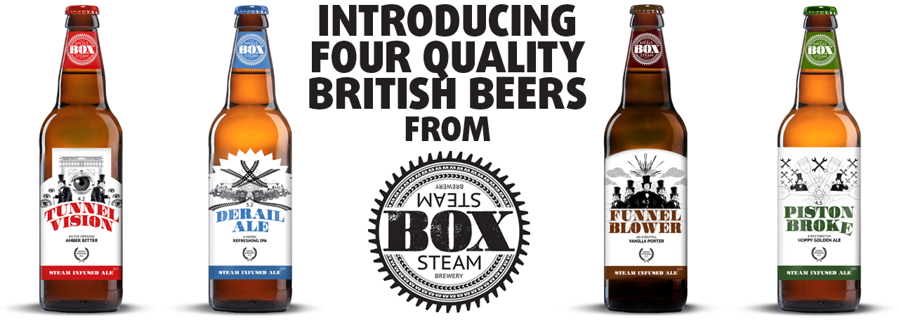 Box Steam Brewery, Great British Beer in Hong Kong