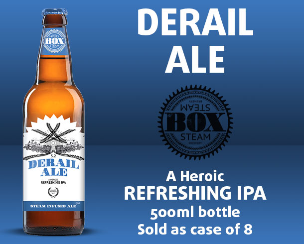 Sky Beer - Box Steam Derail Ale